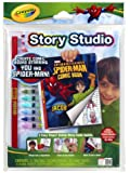 Crayola Story Studio Kit-Spiderman