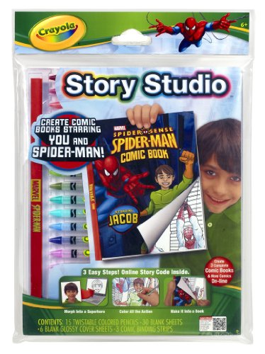 Crayola Story Studio Comic Maker Spiderman - 1