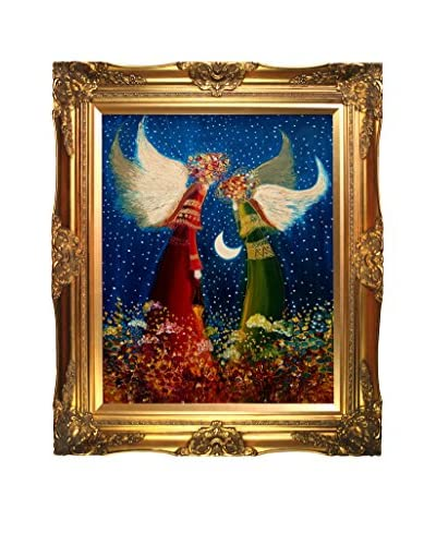 Justyna Kopania Angels II Framed Canvas Print