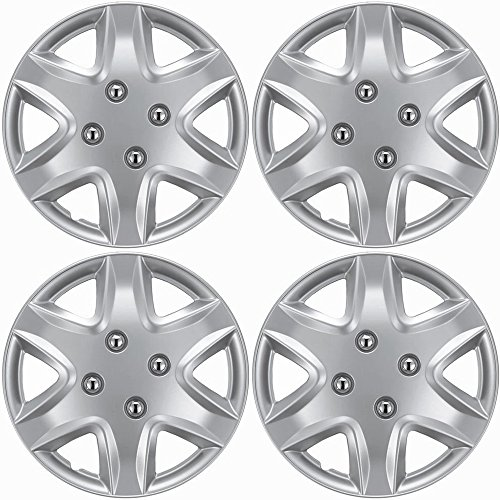hubcaps-for-chevy-aveo-set-of-4-pack-14-inch-silver-oem-genuine-factory-replacement-easy-snap-on-aft