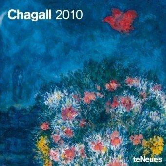2010 Chagall Wall Calendar