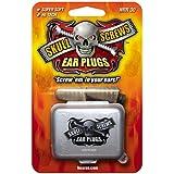Skull Screws Hi Tech Ear Plugs, 1-Pair