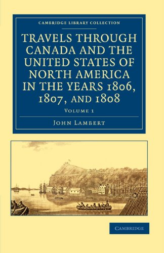 Travels through Canada and the United States