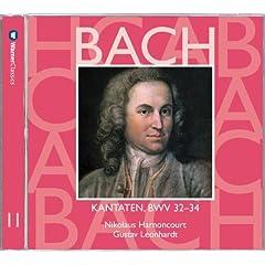 Bach, JS : Sacred Cantatas BWV Nos 32 - 34