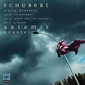Schubert : Quatuors 'La jeune fille et la mort', 'Rosamunde', en sol majeur