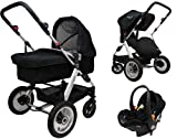 Twingo 3 in 1 Full Travel System - Black