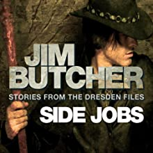 Side Jobs: Stories from the Dresden Files Audiobook by Jim Butcher Narrated by James Marsters