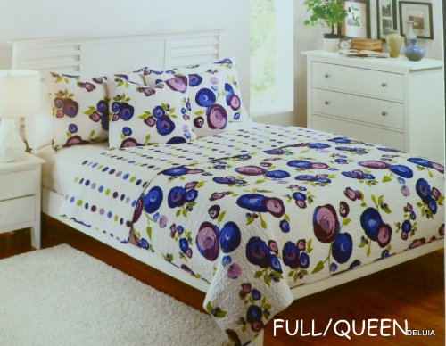 QUILT - FULL/QUEEN 100% COTTON - MODERN BLOOM