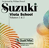 Suzuki Viola School, Volume 1 & 2 (CD) (Suzuki Method)