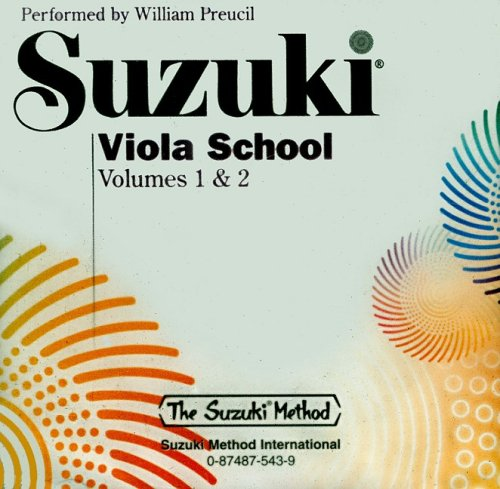 Suzuki Viola School, Volume 1 & 2 (CD) (Suzuki Method)