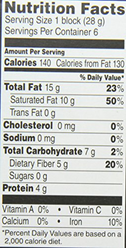 DAGOBA-Unsweetened-Baking-Chocolate-Bar-100-Cacao-6-Ounce-Pack-of-5