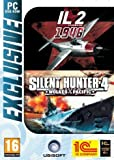 IL2 Sturmovik 1946 Plus Silent Hunter 4 Wolves of The Pacific (PC DVD) Windows Xp