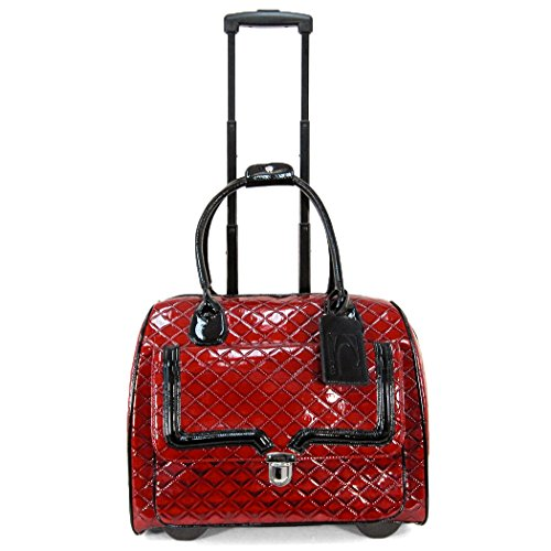 cabrelli-patent-quilted-laptop-rollerbrief-red-one-size