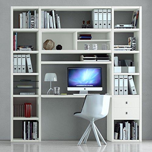 Regalwand-mit-Schreibtisch-TOLEO238-Lack-wei