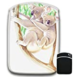 Mother Child Koala Bear in Eucalyptus Tree For Amazon Kindle HD 89 Soft Protection Neoprene Case Cover Sleeve Bag With Pocket which is Ideal for Headphones Data Cable etc