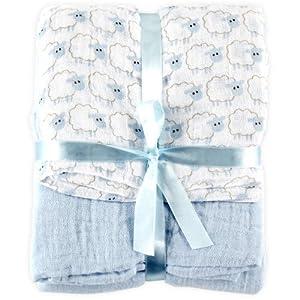 Amazon Com Hudson Baby 2 Count Muslin Swaddle Blanket