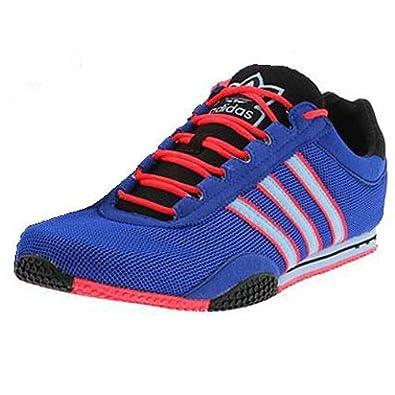 adidas ZX Racer Mesh Men's Running Shoes 117451 Size 5 D (Standard Width) Blue/Red