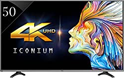 Vu 50K310 127 cm (50) 3D 4K (Ultra HD) Smart LED Television