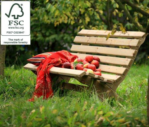 Lily Pine Garden Bench - FSC 100%