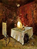 LEONORA CARRINGTON The Egg VINTAGE SURREALISM 250gsm Gloss ART CARD A3 Reproduction Poster
