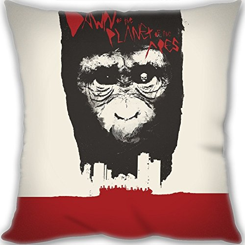 Custom Dawn Of The Planet Of The Apes Throw Pillow 60x60cm(24x24inch) Big Size 900g(1.98lb) (include Pillow Inner)