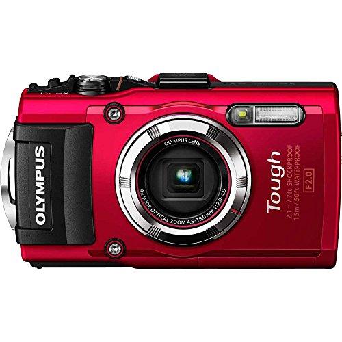 Olympus Tg-3 Waterproof 16 Mp Digital Camera (Red)