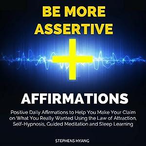 Be More Assertive Affirmations Speech