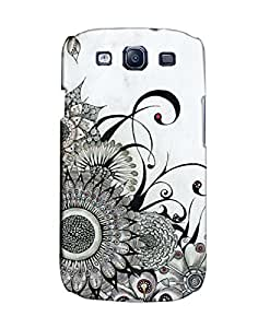 Pick Pattern Back Cover for Samsung I9300 Galaxy S III (MATTE)