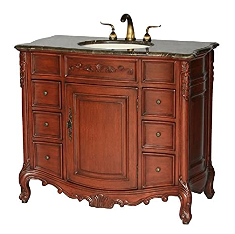 40-Inch Antique Style Single Sink Bathroom Vanity Model 2234-505 MXC