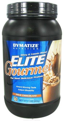 Dymatize Nutrition - Elite Gourmet Protein Whey & Casein Blend Powder Milk Chocolate - 2 Lbs.