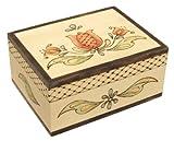 Walnut Hollow Unfinished Wood Box, Classic
