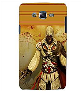 PrintDhaba Warrior D-1891 Back Case Cover for SAMSUNG GALAXY ON 5 (Multi-Coloured)