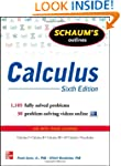 Schaum's Outline of Calculus, 6th Edi...