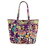 Vera Bradley Large Laptop Tote (Plum Crazy)