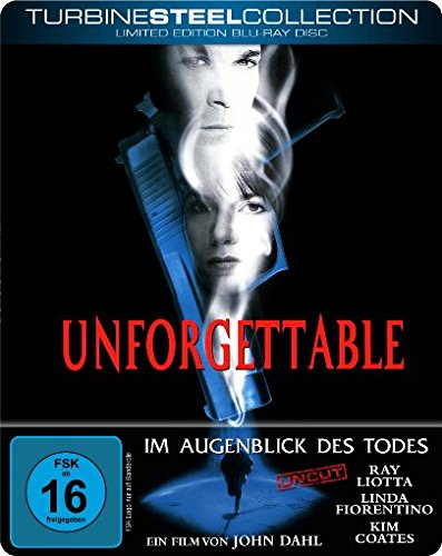 Unforgettable - Im Augenblick des Todes (Limited Edition Turbine Steel) [Blu-ray]