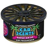 California Car Scents Duftdose für das Auto. Duftrichtung: Newport New Car (Neues Auto)
