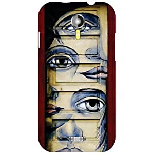 Micromax A117 Canvas Magnus Back Cover - Different Shades Designer Cases