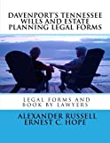 img - for Davenport's Tennessee Wills And Estate Planning Legal Forms by Alexander W Russell (2014-12-26) book / textbook / text book