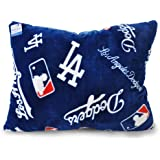 MLB Los Angeles Dodgers Royal Plush Pillow, 20 x 26 Inches