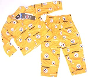 Pittsburgh Steelers NFL Youth 2 Piece Pajamas Set Size 2T by NFL