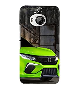 Fuson 3D Designer Back Case Cover For HTC One M9 PLUS