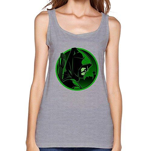 Donna's Green Arrow Tv Logo Tank Top X-Large