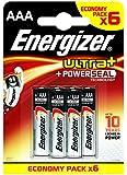 Energizer Pack de 6 Piles AAA Ultra+ Ecopack