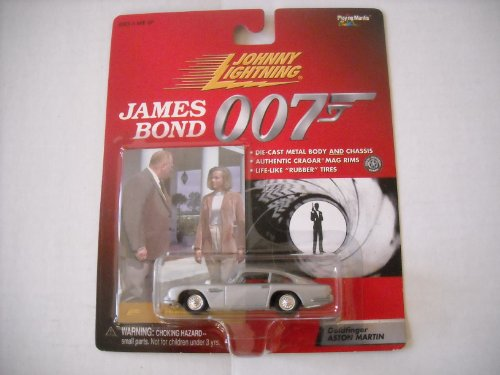 Johnny Lightning James Bond 007 Goldfinger Aston Martin