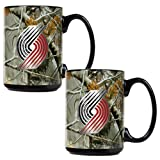 Portland Trail Blazers Open Field 2Pc. Ceramic Mug Set at Amazon.com