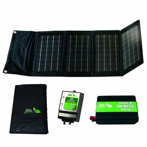 Nature Power 55703 Folding Off-Grid Solar Panel Kit, 40-watt (40w Solar Panel Folding compare prices)
