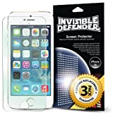Invisible Defender – Apple iPhone 5 / 5S / 5C Screen Protector with [3 PACK/Lifetime Replacement Warranty] The World's Best Selling Premium EXTREME CLEAR Screen Protector for Apple iPhone 5 / 5S / 5C (AT&T, T-Mobile, Sprint, Verizon)