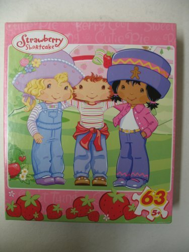 Strawberry Shortcake Berry Best Friends 63pc Puzzle - 1