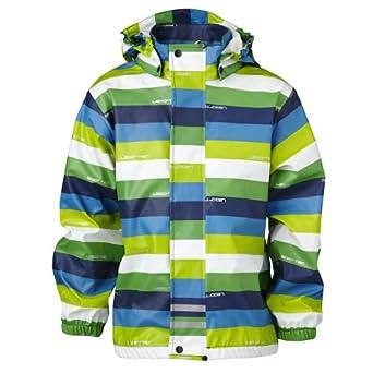 LEGO Boy veste de pluie/Rain Jacket - JOHANNES 203 - RAIN JACKET - BLUE - 10 years