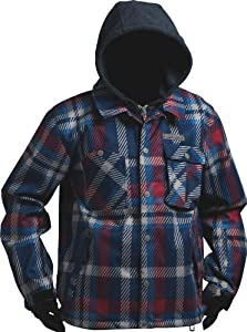 Billabong Men's Shout Snow Jacket - Rust, X-Large (Old Version)